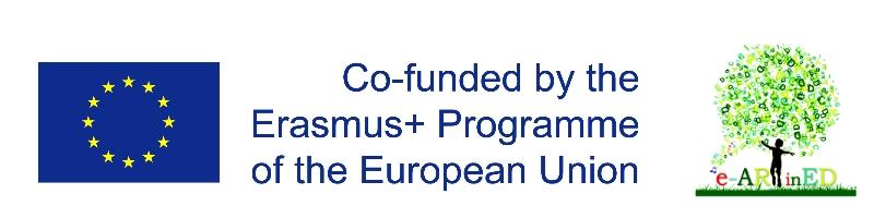 e-ARTinED Erasmus+ ID KA201-01226718